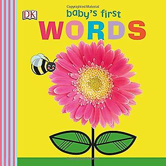 Baby's First Words by DK - 9781465463654 Book