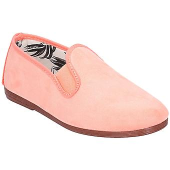 Flossy flickor spädbarn crack slip på casual sommar pump skor