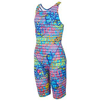 Maru Street Art Pacer Legsuit Swimwear For Girls
