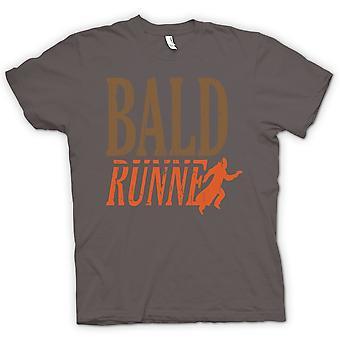 Womens T-shirt - Glatze Runner - lustig
