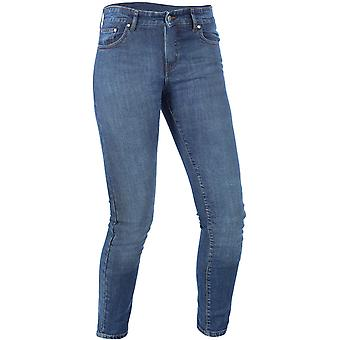 Oxford Blue Hinksey - Long Womens Motorcycle Jeans