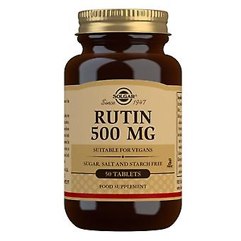 Solgar rutin 500mg comprimidos 50 (2460)