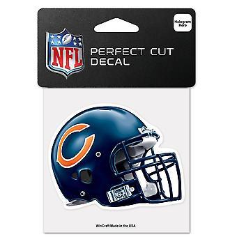 Wincraft Helm Aufkleber 10x10cm - NFL Chicago Bears