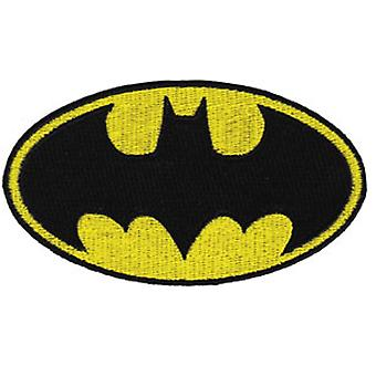 Patch - DC Comic - Batman - Yellow Logo Iron On Licensed Gifts Toys p-dc-0008