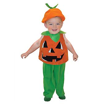 Peuters pompoen Tabard Halloween fancy dress kostuum