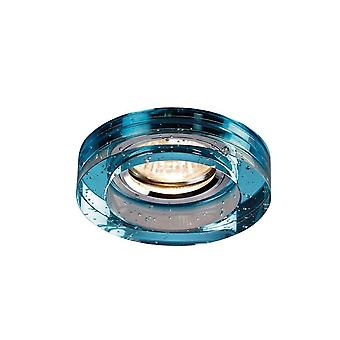 Diyas Crystal Bubble Downlight Round Rim Only Aqua, IL30800 Required To Complete The Item