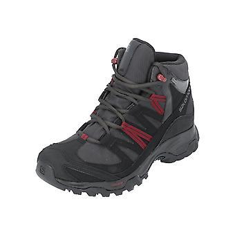 Salomon SHOES SHINDO MID GTX Men's Sports Shoes Black NEW Sneaker Gymnastics Shoes
