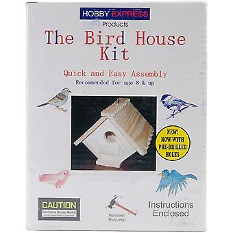 The Bird House Kit Unfinished 60002