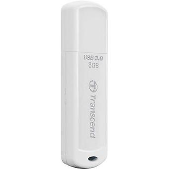 USB stick 8 GB Transcend JetFlash® 730 White TS8GJF730 USB 3.0