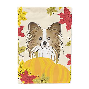 Papillon Thanksgiving Flag Garden Size BB2054GF