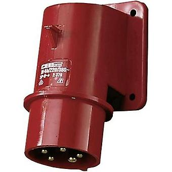 CEE add-on plug 16 A 5-pin 400 V MENNEKES 379
