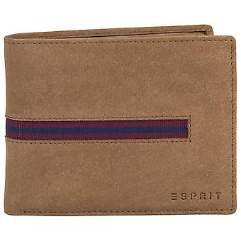 ESPRIT mens leather wallet tape inlay wall 116EA2V004-E230
