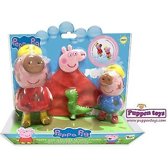 IMC Toys Peppa and George Manchitas Magic