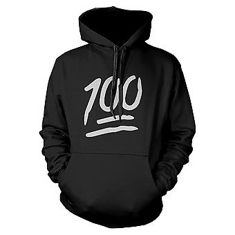 100 Points Hoodie Back To School Hooded Sweatshirt Graphic Sweater