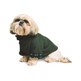 Mikrowłókna płaszcz zielony Xxlge