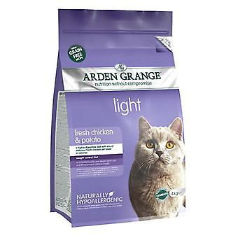 Arden Grange korn frie kat lys med frisk kylling & kartoffel 4kg