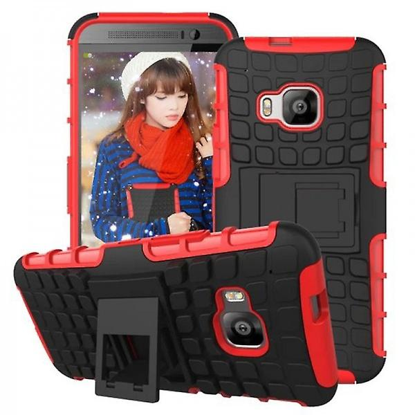 Hybrid case 2 piece SWL robot red for HTC one 3 M9 2015
