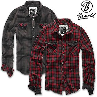 Brandit Men Duncan flannel shirt