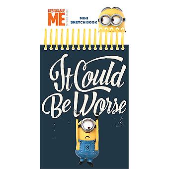 Despicable Me Minion Mini Sketch libro pegatinas rotulador colorear juego