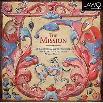 Norsk vind Ensemble - Mission: Barok musik fra den nye verden [CD] USA import