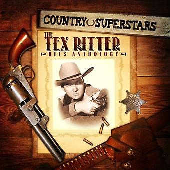 Tex Ritter - Country Superstars: The Tex Ritter Hits Anthology [CD] USA import