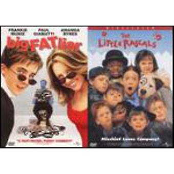 Universal 2 Pak - Big Fat Liar/Little Rascals [DVD] USA import