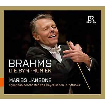 Brahms / bayerske Radio Symfoniorkester - symfonier [CD] USA import