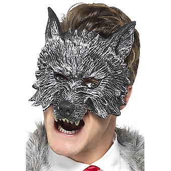 Half-mask Silver Wolf