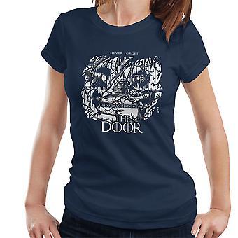 Hodor Hold døren Game Of Thrones Scene kvinder T-Shirt