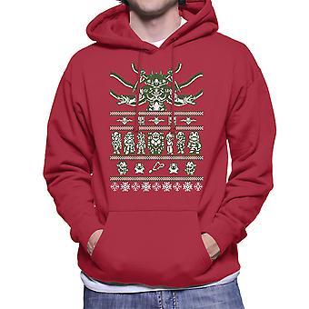Chrono jul ful tröja Mäns Hooded Sweatshirt