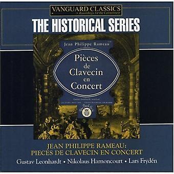 J.P. Rameau - Jean Philippe Rameau: Stykker De Clavecin En koncert [CD] USA import