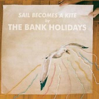 Bank Holidays - sejl bliver en Kite [CD] USA importerer