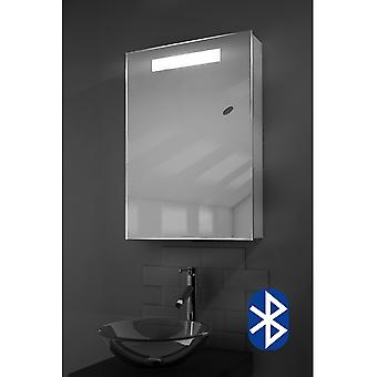 Alannah LED Illuminated Bathroom Cabinet With Sensor & Shaver k260aud
