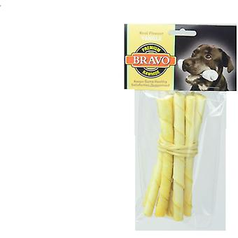 Bravo Vanilla Twist Palito 5 'Pack 10 units (Dogs , Treats , Bones)
