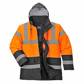 Portwest - Hi-Vis Safety Two Tone Traffic Workwear Jacket