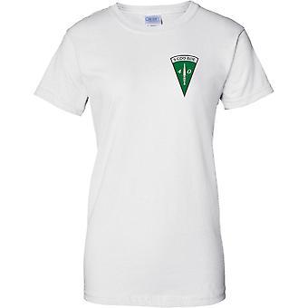 Licencia MOD - real infantería de Marina comando daga 40 Cdo 3 Cdo Bde - señoras pecho diseño t-shirt
