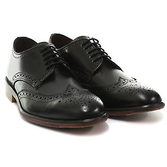 London Brogues Lincoln Derby Mens Leather Brogue Shoes  AND COLOURS