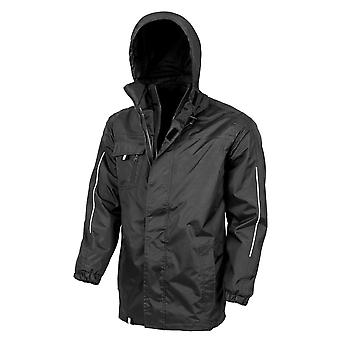 Result Core Mens Printable 3-In-1 Transit Jacket