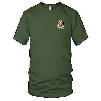 US Army - 121st kjemiske bataljon brodert Patch - Mens T-skjorte