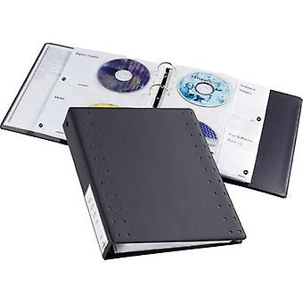 Durable CD/DVD-Index 40 5227-58 Anthracite 40 CDs/DVDs
