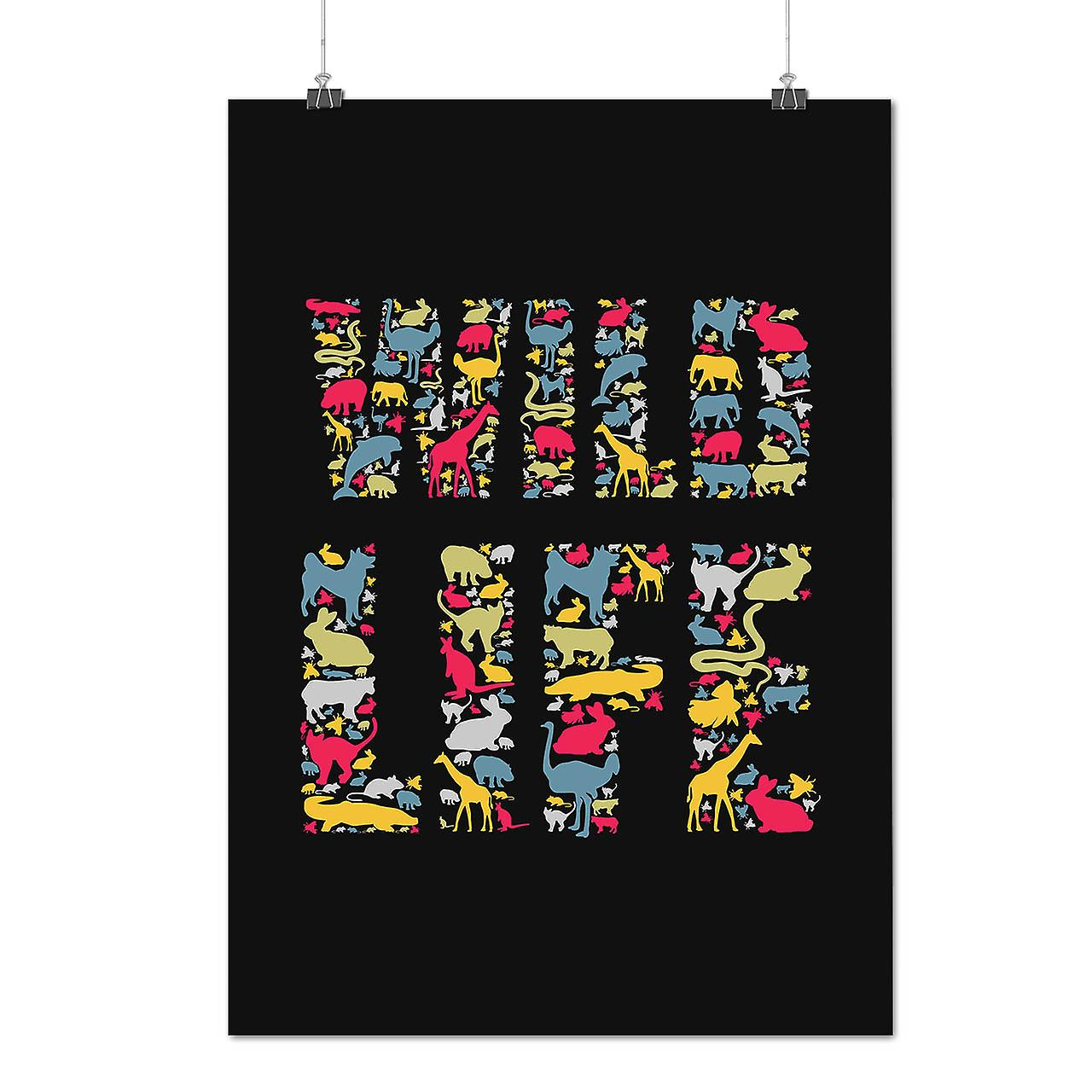 Matte or Glossy Poster with Wild Life Animal Nature   Wellcoda   *d2383