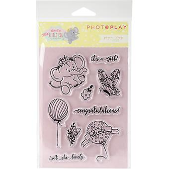 About A Little Girl Polymer Stamps- ALG2469