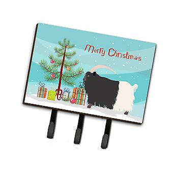 Welsh Black-Necked Goat Christmas Leash or Key Holder