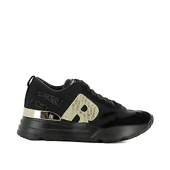 RUCO line women's 4000TOPMELOGDARK black cloth of sneakers