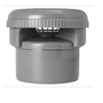 Air toelating Valve voor 110 mm Push Fit Pipe - Anti overgeheveld ventiel