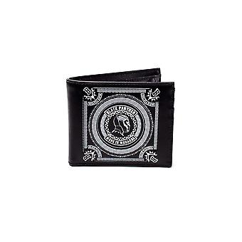 Black Panther Wallet Made In Wakanda Movie Logo new Official Black Bifold