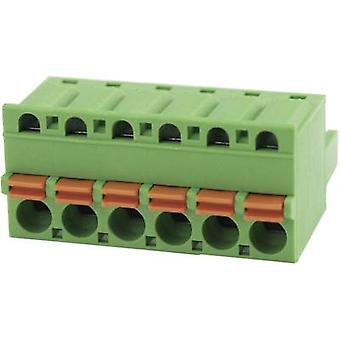 Pin enclosure - cable Total number of pins 6 Degson 2EDGKD-5.08-06P-14-00AH Contact spacing: 5.08 mm 1 pc(s)