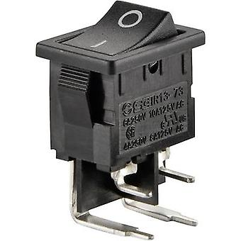 Toggle switch 250 V AC 6 A 2 x Off/On SCI R13-73A-