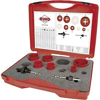 Hole saw set 8-piece RUKO 106302 106302