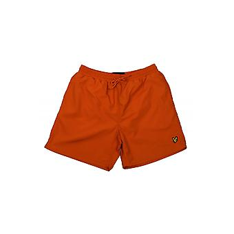Lyle & Scott llano Swim Shorts (zorro naranja)